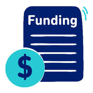A funding form on with a dollar symbol