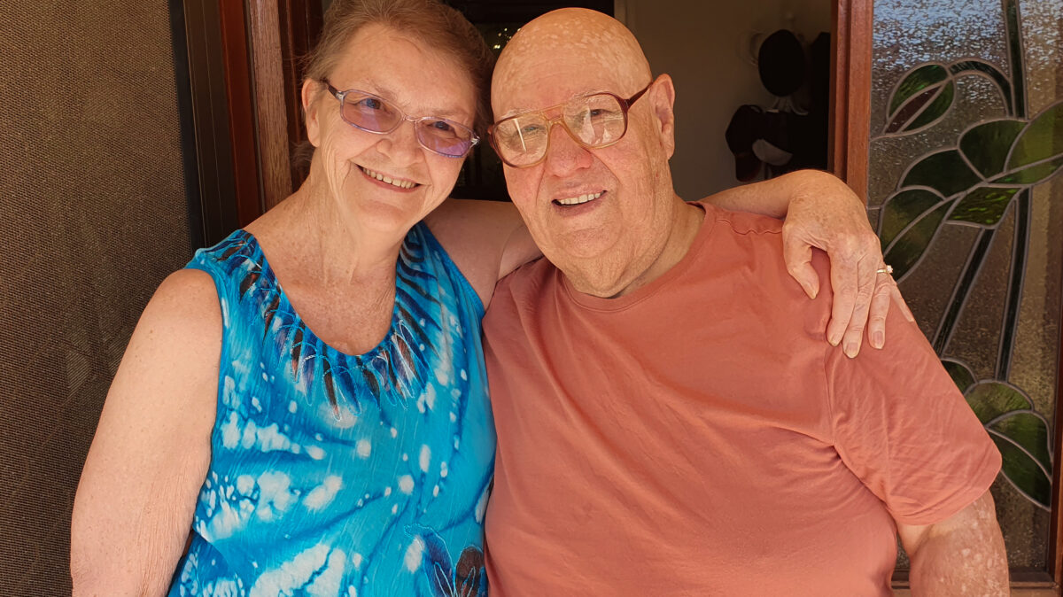 Romantic connection makes life easier for Helen and Ray